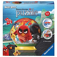 Angry birds - 72 piece 3D Jigsaw Puzzle