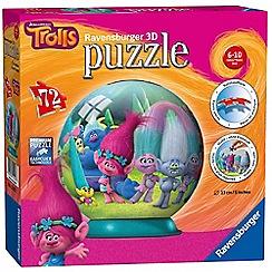 Trolls - 72 piece 3D Jigsaw Puzzle