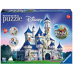Ravensburger - Disney Castle 216 piece 3D Jigsaw Puzzle
