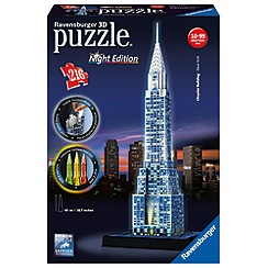 Ravensburger - Chrysler Building - Night Edition 216 piece 3D Jigsaw Puzzle