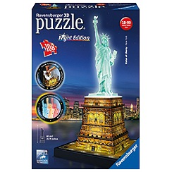 Ravensburger - Statue of Liberty - Night Edition 216 piece 3D Jigsaw Puzzle