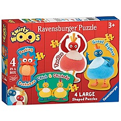 Twirly Woos - 4 Shaped Jigsaw Puzzles
