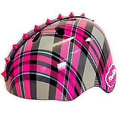 Re:creation - C-Preme Krash Helmet Plaid Pyramid Studs Youth - Pink