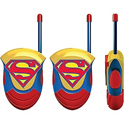 Superman - Moulded Walkie Talkie