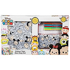 Disney Tsum Tsum - 2 pack colour your own bag set
