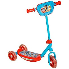 Paw Patrol - 3 Wheel Scooter with Front Plate