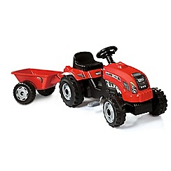Smoby - Gm red tractor