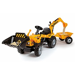 Smoby - Builder tractor