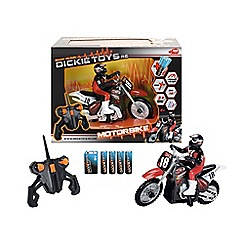 Dickie - Remote control motocross bike  1:8 2.4ghz
