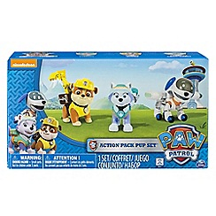 Paw Patrol - Action Pack Pup Set