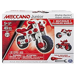 Meccano - Junior Motorcyle Construction Set