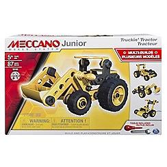 Meccano - Junior Tractor Construction Set