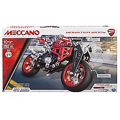 Meccano - Ducati Monster 1200 S Construction Set