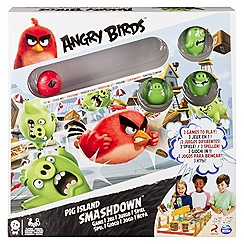 Angry birds - Birds Pig Island Super Smash Game