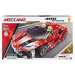 Meccano - Ferrari 488 Spider Construction Set