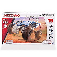 Meccano - 15 Model Construction Set