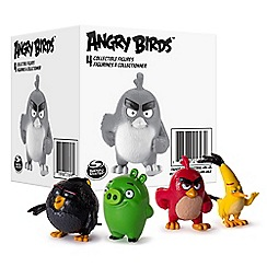 Angry birds - Collectible Figures 4 Pack