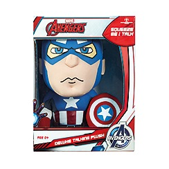 The Avengers - Deluxe 15' Captain America Talking Plush