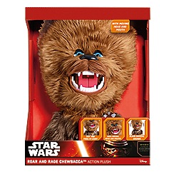 Star Wars - Rage and Roar Chewbacca Plush