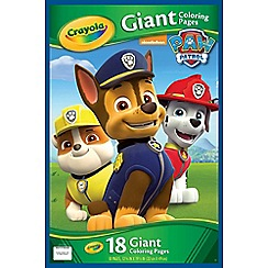 Paw Patrol - Giant Colouring Pages