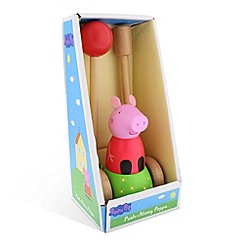 Peppa Pig - Wooden Push Along