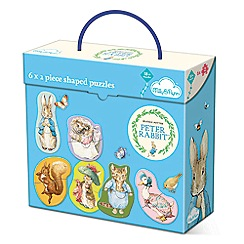 Beatrix Potter - 6 x 2 piece puzzles