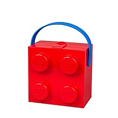 LEGO - Red brick Lunch box with Handle
