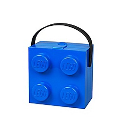 LEGO - Blue brick Lunch box with Handle