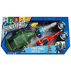 Thunderbirds - Vehicle Super Set