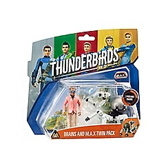 Thunderbirds - Brains and Max Twin Pack