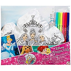 Disney Princess - Colour your own cushion