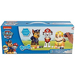 Paw Patrol - Paint your own figure 3 pack smaller box