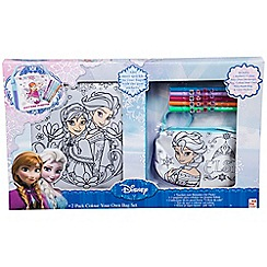 Disney Frozen - 2 pack colour your own bag set