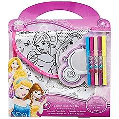 Disney Princess - Colour your own bag