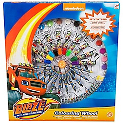 Blaze - Wheel of colour large 14 oil pastels