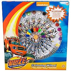 Blaze - Wheel of colour large 14 oil pastels