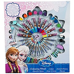 Disney Frozen - Wheel of colour large 14 oil pastels