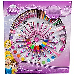 Disney Princess - Wheel of colour large 14 oil pastels