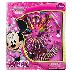 Minnie Mouse - Wheel of colour large 14 oil pastels