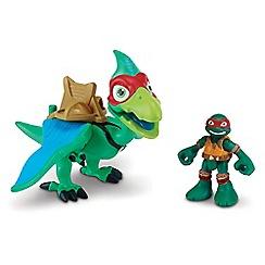 Teenage Mutant Ninja Turtles - Half-Shell Heroes Dino and Figure - Pterodactyl and Raph