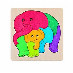 Marbel - Elephant & Baby Jigsaw Puzzle