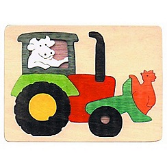 Marbel - Tractor Jigsaw Puzzle