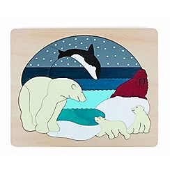 Marbel - Artic Animals Jigsaw Puzzle