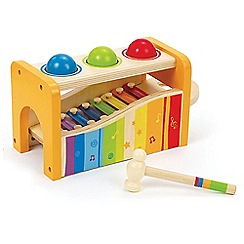 Hape - Early Melodies Pound n Tap Bench Set