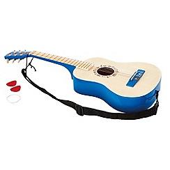 Hape - Vibrant Blue Guitar