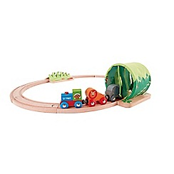 Hape - Jungle Train Journey Set