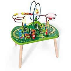 Hape - Jungle Play & Train Activity Table