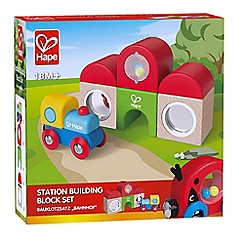 Hape - Station Building Block Set