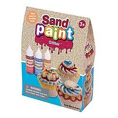 Marbel - Sand Paint Neon Gliiter Set