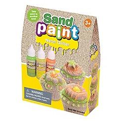 Marbel - Sand Paint Glitter Set